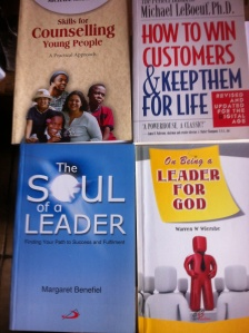 Christian Leadership/ Customer Service. Available in store.