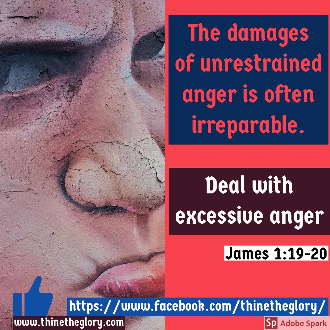 DAMAGES OF UNRESTRAINED ANGER