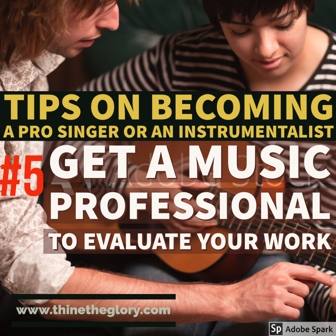 TIPS ON BECOMING A PROFESSIONAL SINGER OR AN INSTRUMENTALIST
