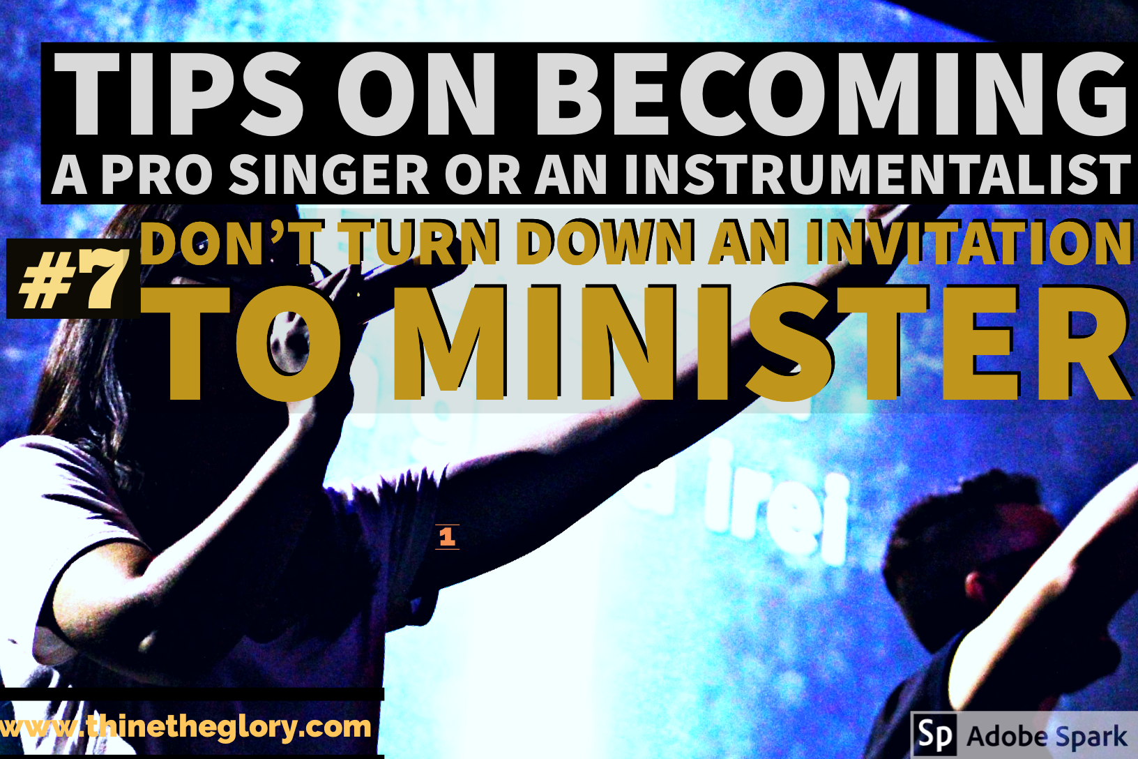 #7 TIP ON HOW TO BECOME A PROFESSIONAL SINGER OR AN INSTRUMENTALIST