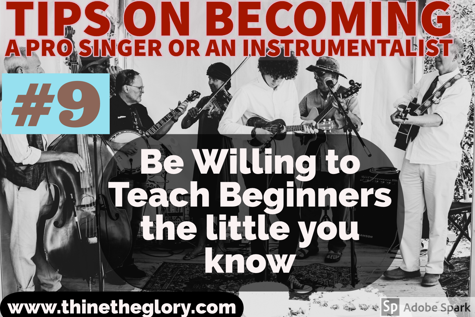 #9 TIP ON BECOMING A PROFESSIONAL SINGER OR AN INSTRUMENTALIST