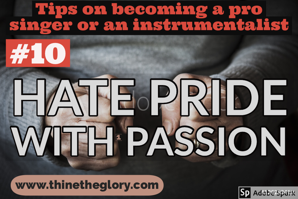 #10 TIP ON BECOMING A PROFESSIONAL SINGER OR AN INSTRUMENTALIST