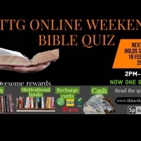 Online Weekend Bible Quiz With Prizes